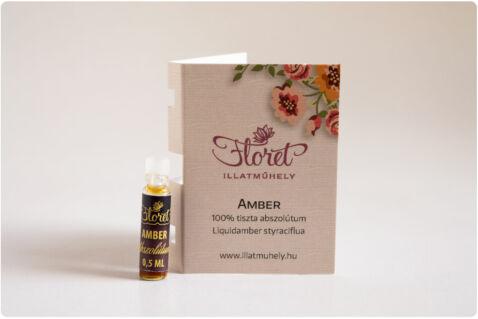 Amber abszolútum mini -Pinus Succinefera- 0,5 ml