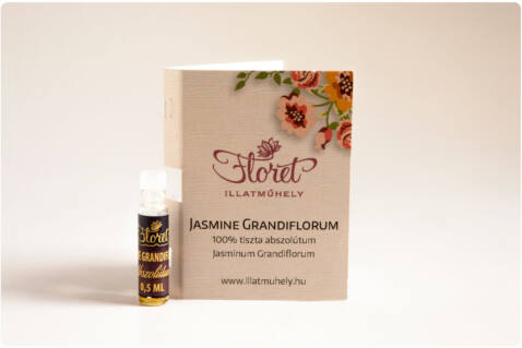 Jasmine Grandiflorum abszolútum mini -Jasminum Grandiflorum- 0,5 ml