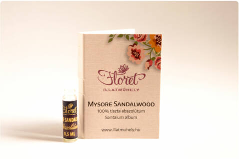 Mysore sandalwood abszolútum mini -Santalum album- 0,5ml