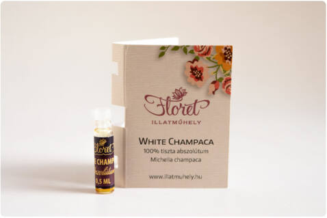 White Champaca abszolútum mini -Michelia champaca- 0,5ml