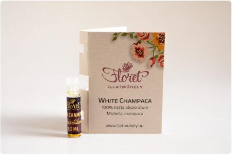 White Champaca abszolútum mini -Michelia champaca- 0,5ml