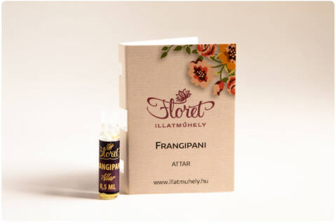 Frangipani attar mini - 0.5 ml