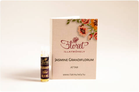Jasmine Grandiflorum attar mini - 0.5 ml