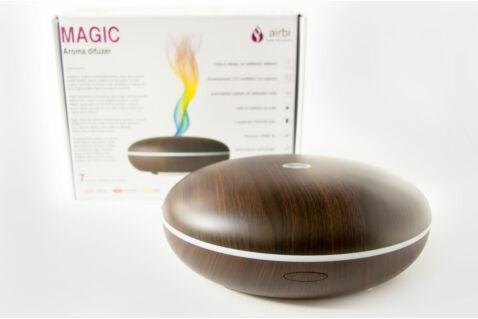 Airbi Magic aroma diffúzor - sötétbarna famintás