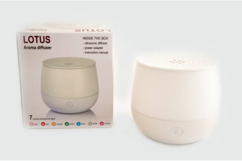 Airbi Lotus aroma diffúzor - fehér