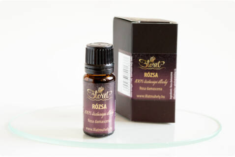 Rózsa illóolaj -Rosa damascena- 5 ml