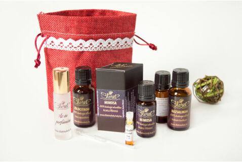 Szerelmes április – Mimosa luxus parfüm készlet