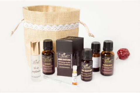 Kacér május – Jasmine luxus parfüm készlet
