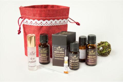 Újjászülető március – White Lotus luxus parfüm készlet