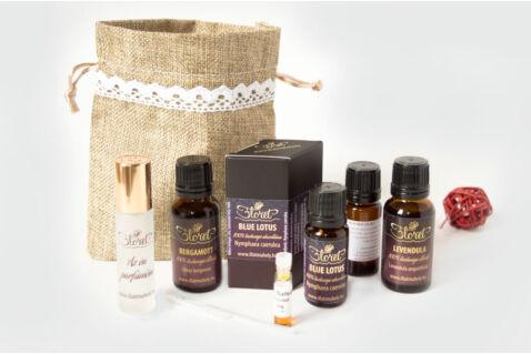 Védelmező október – Blue Lotus luxus parfüm készlet