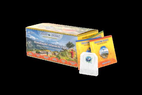 Relaxációs tea válogatás 6x5 filter